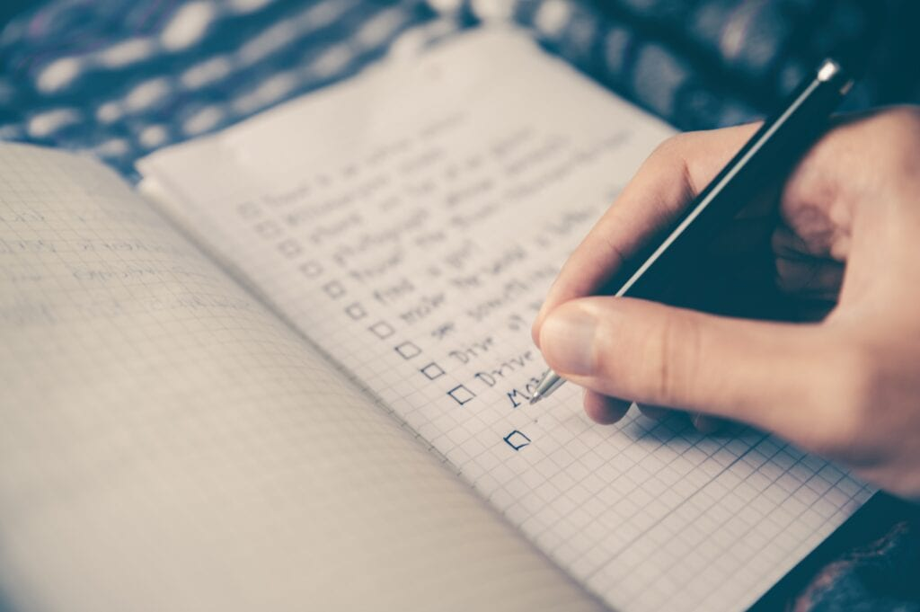 Work through your tasks to maintain focus when studying